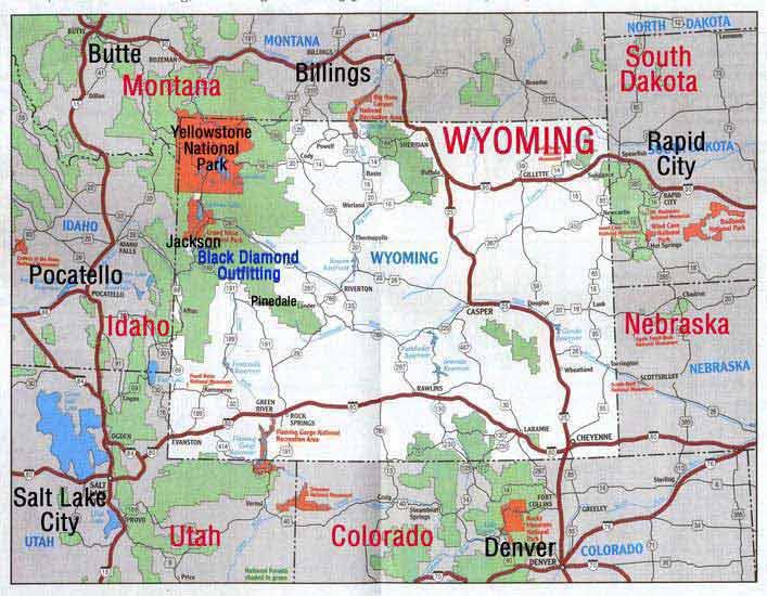 Wyoming Mule Deer Hunting Unit Map - The Best Deer 2018